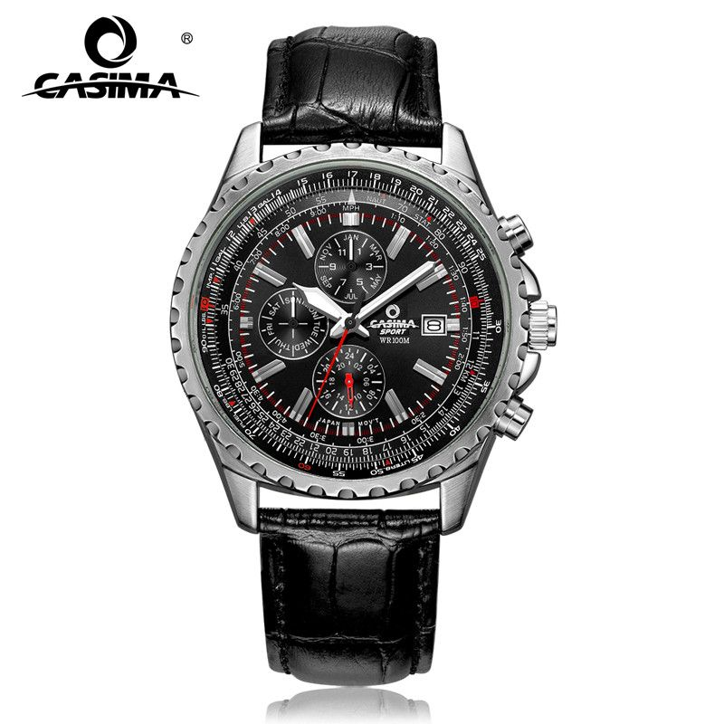 Cool Sport Men Watch Fashion Casual Charm Watches Luxury Brand Watches Men Quartz Wrist Watch Waterproof 100m CASIMA 8882