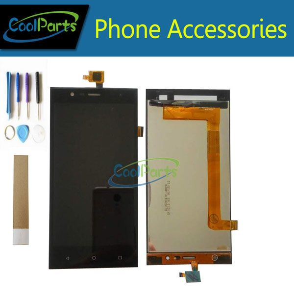 1PC/Lot For Highscreen Boost 3 Pro Boost 3 SE Boost 3 SE Pro Boost 3 LCD Display +Touch Screen Digitizer Black +Tool&<font><b>Tape</b></font>