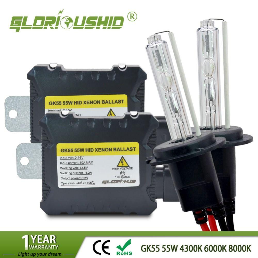 H7 xenon H4 HID Kit for car Headlight H1 H3 H4 H8 H9 H11 <font><b>9005</b></font> HB3 9006 HB4 881 D2S 4300K 6000K 8000K xenon H7 HID Bulb Ballast