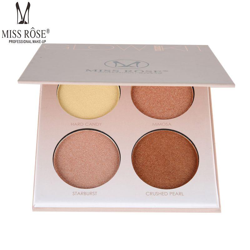 MLLE ROSE Visage Maquillage Mettre En Évidence En Poudre Brun Blanc Shimmer Glow Éclairent Concealer Base Surligneurs Contour Poudre Palette