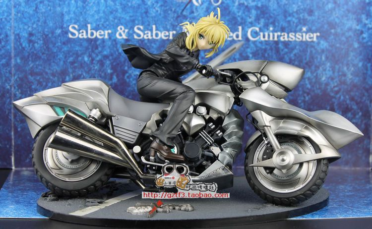 Fate Zero Saber Motored Cuirassier 1/8 Scale Action Figures PVC brinquedos Collection Figures toys for christmas gift