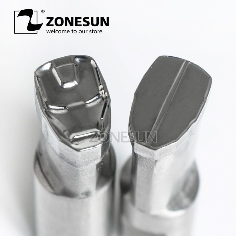 ZONESUN IM logo punching die mold sugar tablet Punching Set Stamp tablet die for milk candy press equipment TDP 0/1.5/3