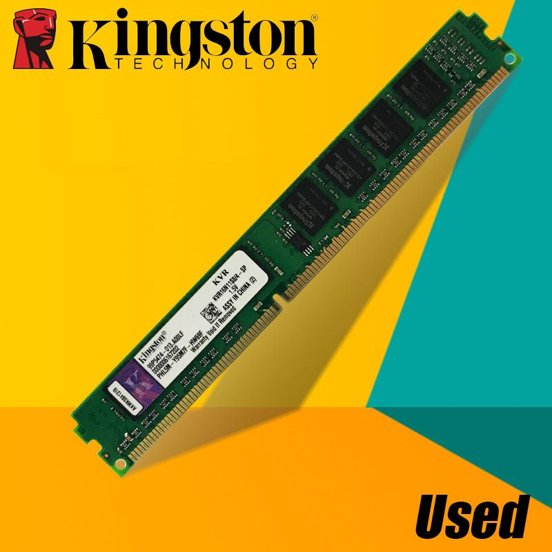 Used Kingston Desktop PC Memory RAM Memoria Module DDR2 800 667 MHz PC2 6400 8GB 4GB 2GB 1GB  DDR3 1600 1333 PC3-10600 12800