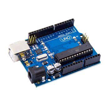 Uno R3 Compatible Électronique ATmega328P Microcontrôleur Carte pour Arduino Robotique et Projets de BRICOLAGE