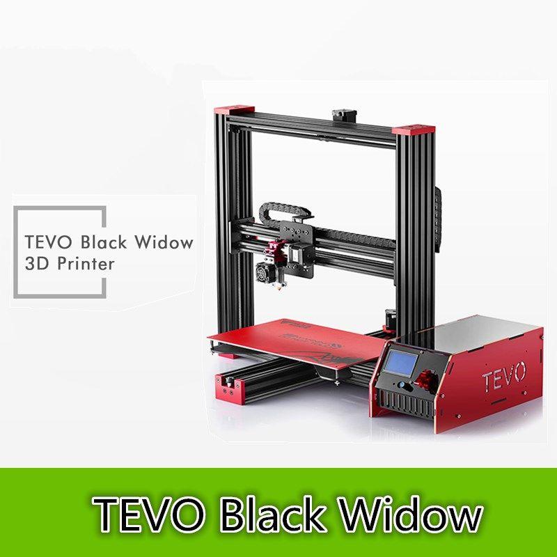 TEVO Black Widow LCD 3D Printer Kit DIY Full Aluminum Large Printing Area 370x250x300mm OpenBuild Aluminium Extrusion Gift