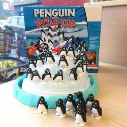Penguin Gunung Es Keseimbangan Mainan Lucu Keluarga Permainan Pesta untuk Usia 4 dan Up