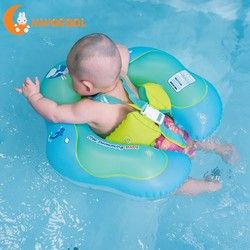 Infant Safety Inflation Swimming Ring Baby Kids Float Swimming Pool Toy for Bathtub and Pools Swim Training