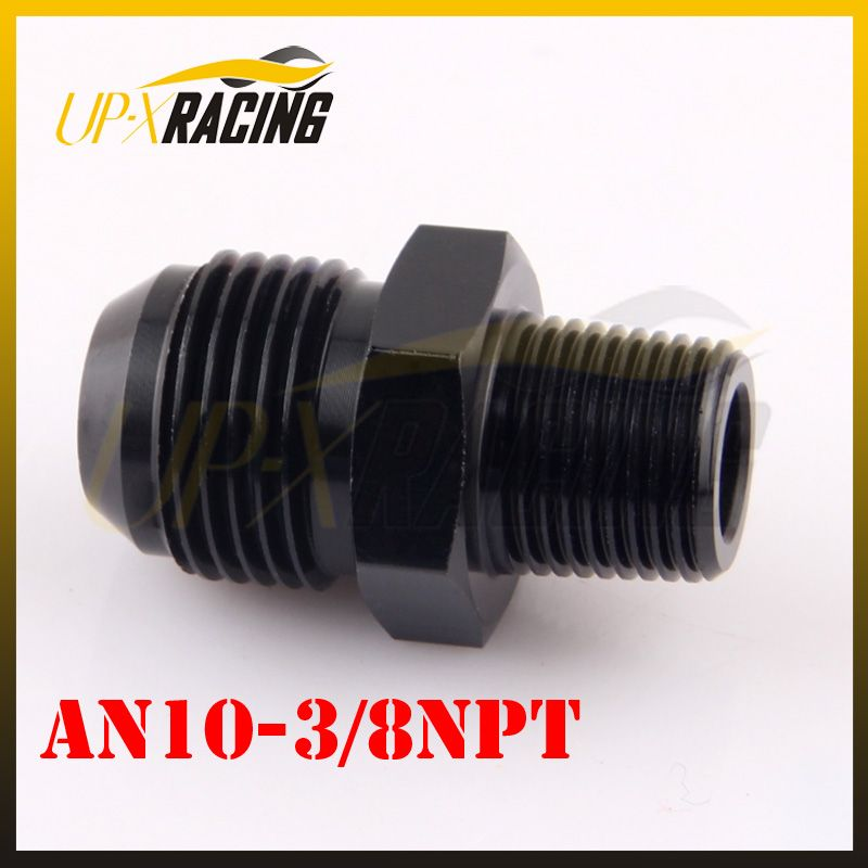AN10 JIC to 3/8NPT Straight Car Performance Aluminum Fittings Adapter oil cooler fitting adapter
