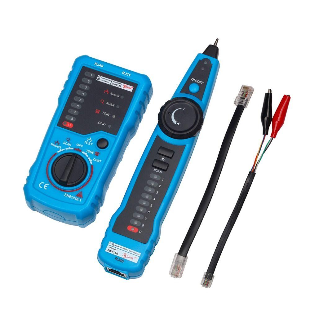 Haute qualité RJ11 RJ45 Cat5 Cat6 téléphone fil Tracker traceur Toner Ethernet LAN réseau câble testeur détecteur ligne Finder