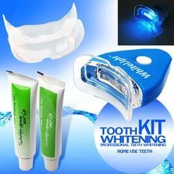 1 Set Accueil Kit Blanc LED Light Blanchiment Des Dents Gel Blanchissant Santé Kit Dentifrice Oral Care pour Personnels Dentaire traitement