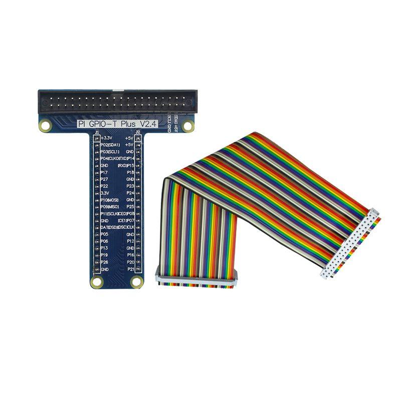 Raspberry Pi 3 Modell B GPIO Bord + 40Pin 20 cm Einreihige Weiblichen zu Weibliche GPIO Dupont Kabel für Raspberry pi 3 Modell B +