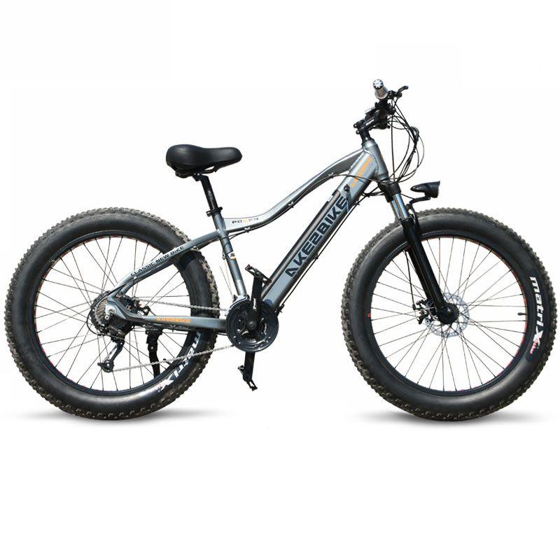 Neue ebike Elektrische Fahrrad 27 Geschwindigkeit 10AH 48 V 500 W E bike 26*4,0 Berg Bikes Fett bike straße Elektrische fahrrad Aluminium Legierung