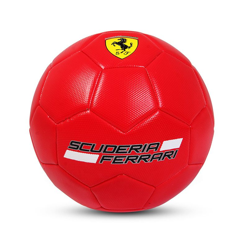 Official Size 5 Standard PVC Soccer Ball Outdoor Sport Training Football Balls Red Color For Kids Adult