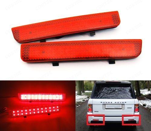CYAN BODEN BAY Rot Stoßstange Reflektor Led-rück L322 Range Rover LR2 Freelander 2 Für Land Rover
