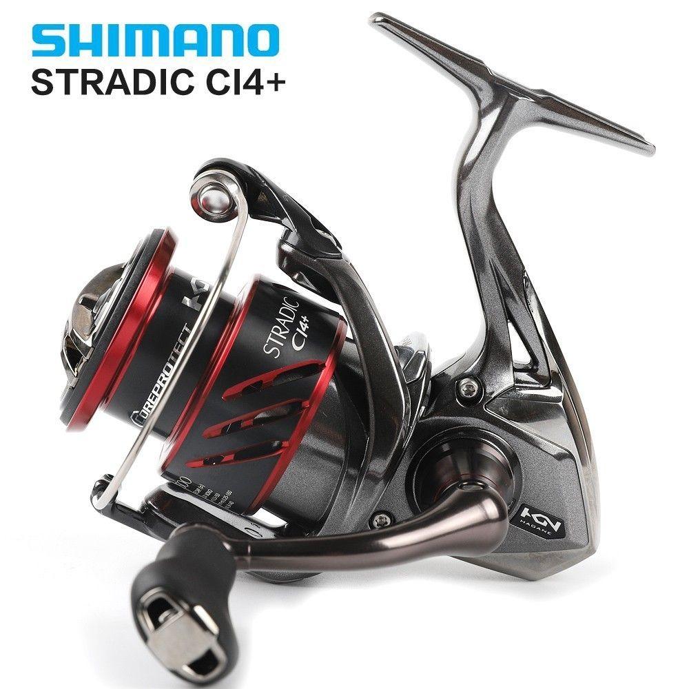Original Shimano Stradic CI4 + 1000/1000HG 2500/2500HG C3000/C3000HG 4000/4000XG Spinning Angeln Reel 6 + 1bb 5,0: 1/6. 0:1 X-schiff