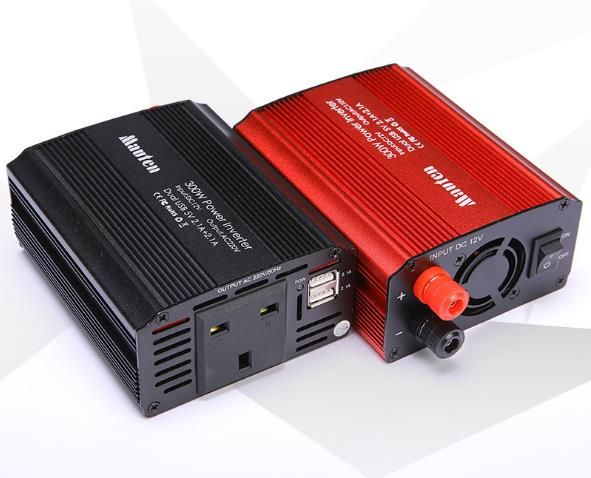 300W Inverter British Regulations Car Inverter 12V-220V Power Converter 2USB