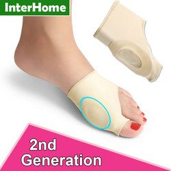 Foot Brace Correction Sleeve Feet Care Special Big Toe Bone Silicone Ring Foot Splint Orthopedic Brace Relieve Foot Thumb Pain
