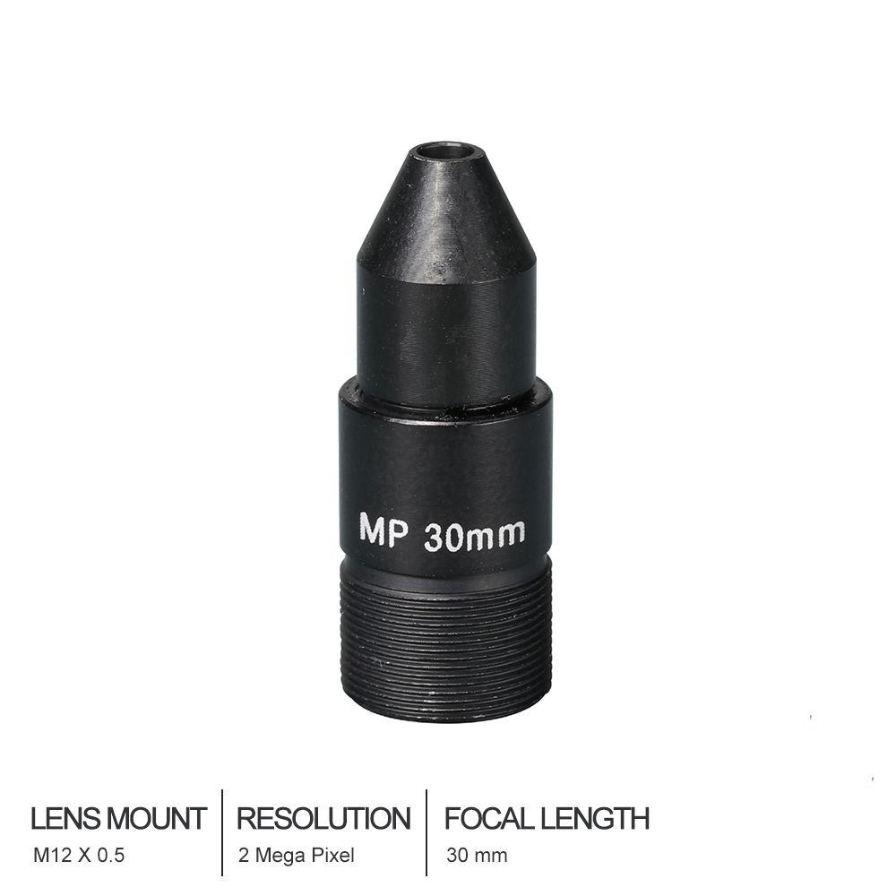 HD CCTV Lens Pinhole 30MM M12*0.5 Mount 1/2.7