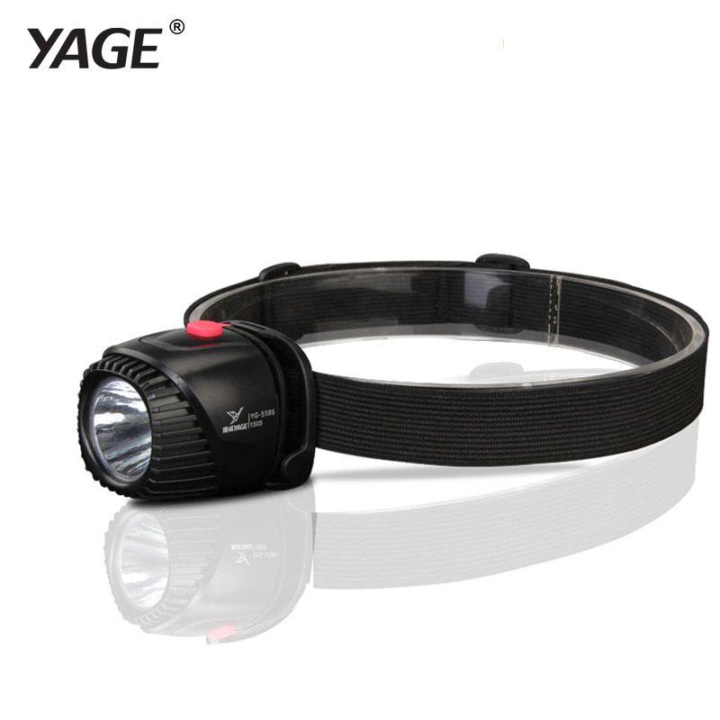 YAGE Headlamp Rechargeable Led Head Lamp Lights on Your Forehead LED Headlight Flashlight Lintern Mini Touch Fishing Lanterna