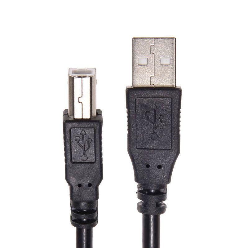 Neue 5 Mt 16ft USB 2.0 Kabel Typ A Stecker auf B Stecker Druckerkabel für Dell/Canon/HP/Brother/Epson drucker scanner