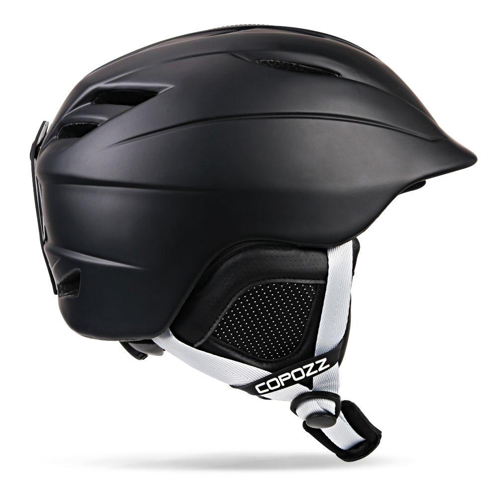 COPOZZ Ski helm Sicherheit Integral geformten Atmungssnowboardjacke helm männer frauen Skateboard helm Multi Farbe Größe 54-62 cm
