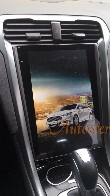 Tesla stil reine Android 12.1 Auto Keine DVD-Spieler GPS-Navigation Für Ford Mondeo Fusion MK5 2013 + stereo auto einheit multimedia