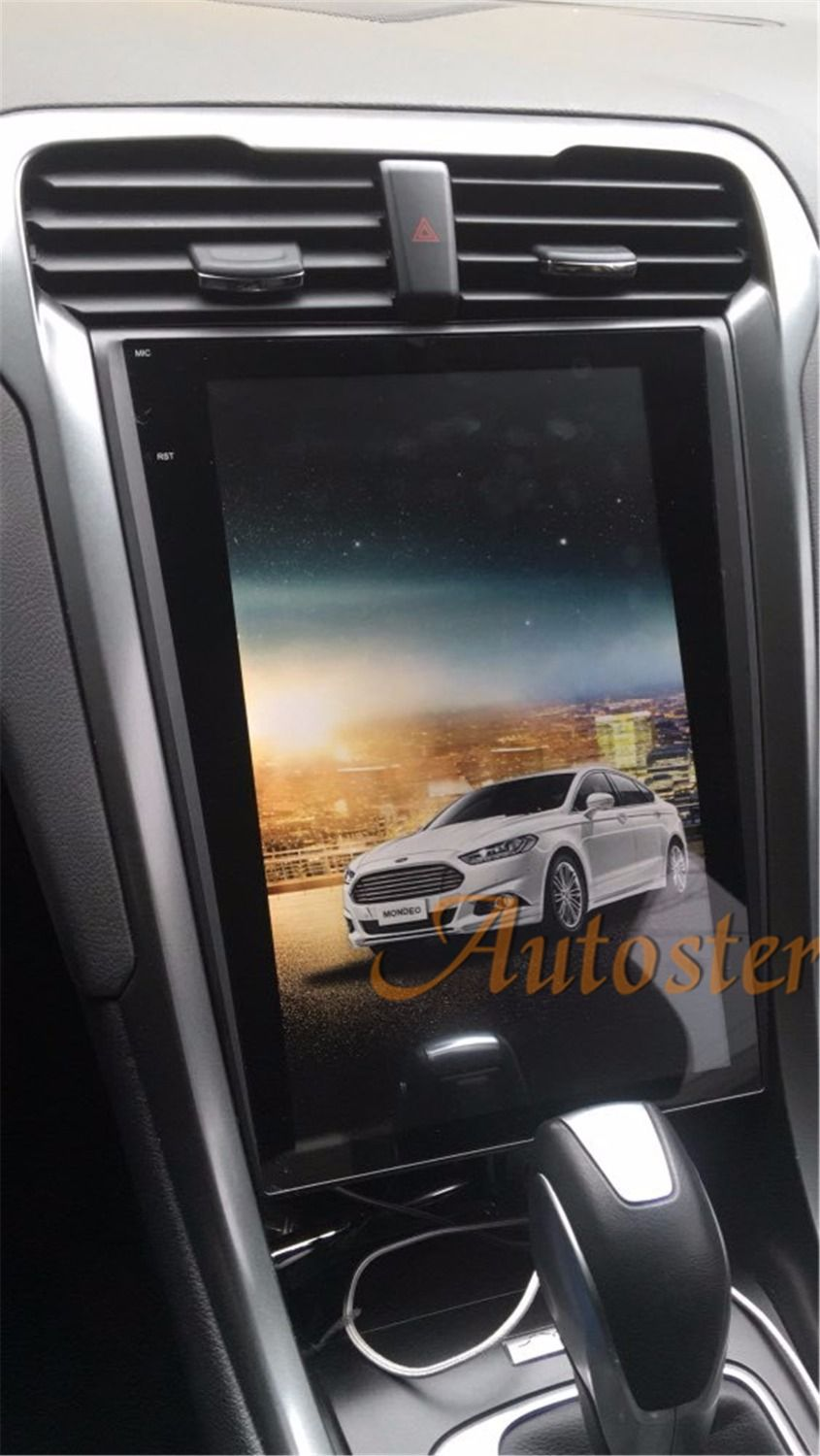 Tesla style pure Android 12.1