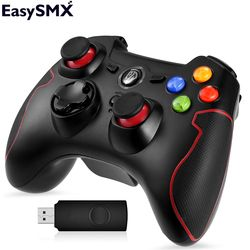 EasySMX ESM-9013 Беспроводной геймпад Джойстик с кнопкой TURBO Контроллер для ПК PS3 ТВ коробки Андроид-смартфона