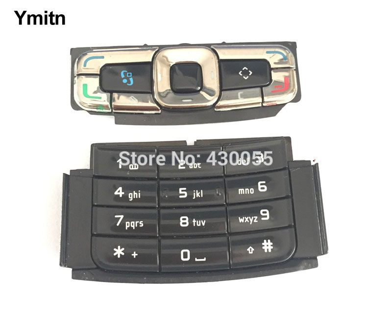 Black Y new housing main function buttons,navigation buttons,keyboards,keypads for Nokia N95 8GB,Free shipping