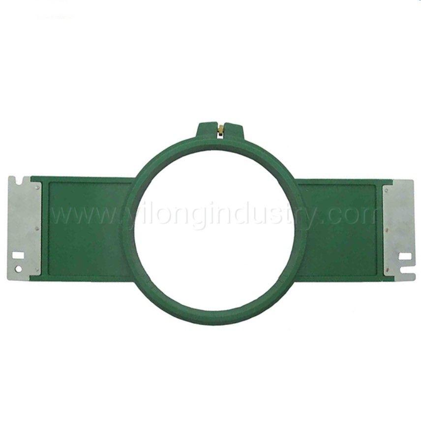 Вышивка запасных частей tajima зеленый обручи 150 мм круглой формы всего Длина 355 мм tajima трубчатая рама tajima трубчатый обруч