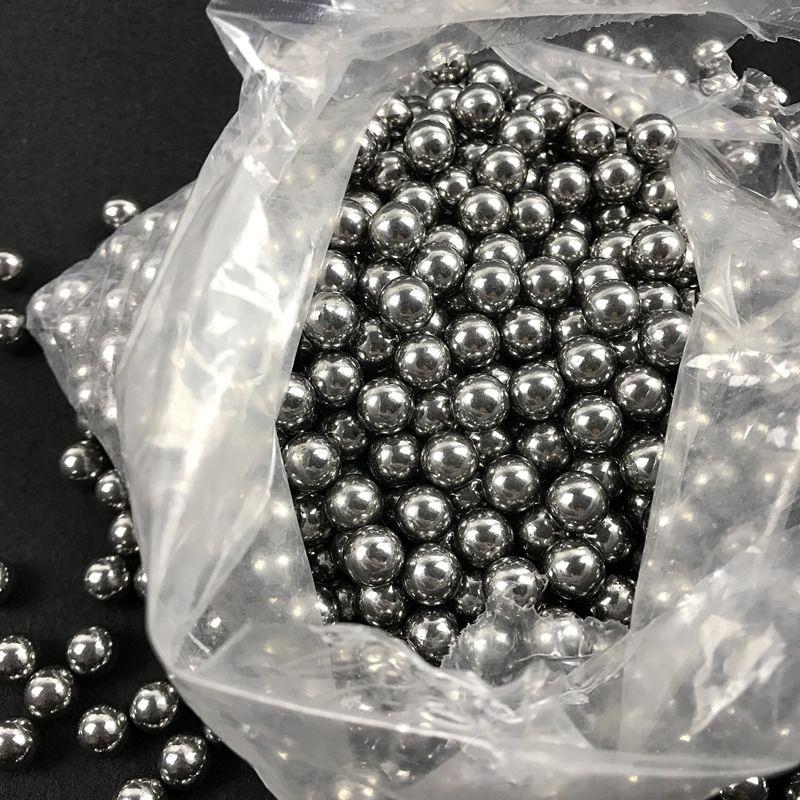 200 teile/los 6mm Schleuder Jagd Schießen Schleuder High-carbon Stahlkugeln Katapult Slingshot Schlagen Ammo Stahl Ball Im Freien