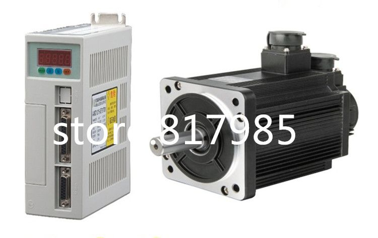 Freies verschiffen 6N. M 1.8KW 3000 RPM 110ST AC Servo Motor 110ST-M06030 + Abgestimmt Servotreiber + kabel komplette motor kits