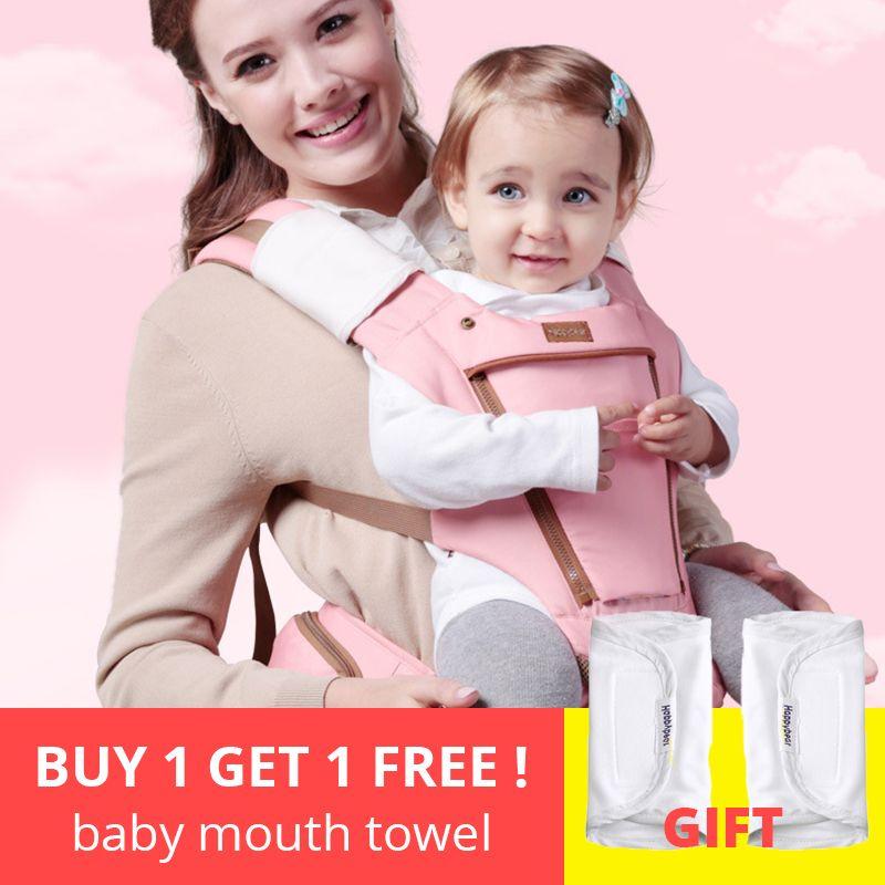 Baby Träger 0-36 Monate Multifunktions Ergonomische Känguru Schlinge baby Rucksack Neue Geboren Baby Wagen Hipseat 2018 neue HappyBear