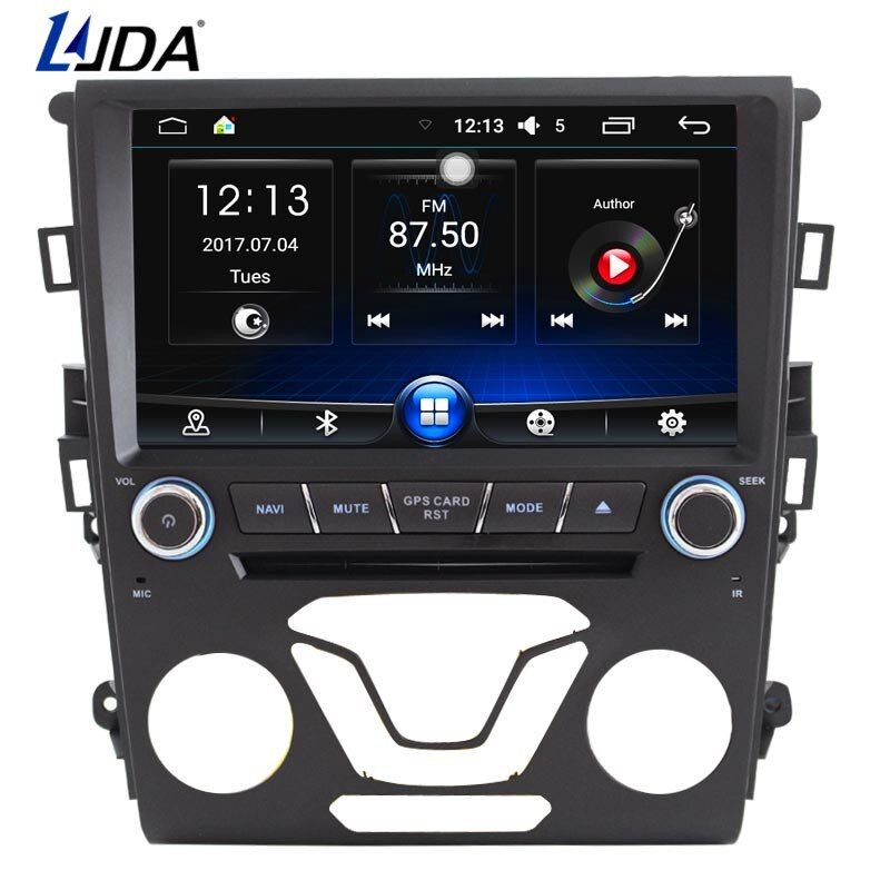 LJDA 8 Inch Android 6.0 Car DVD Player For Ford Mondeo 2012 2013 2014 Radio Audio Canbus GPS Navigation Car Multimedia Player