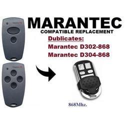 Marantec D302,D304 868Mhz Garage Door/Gate compatible Remote Control Duplicator free shipping
