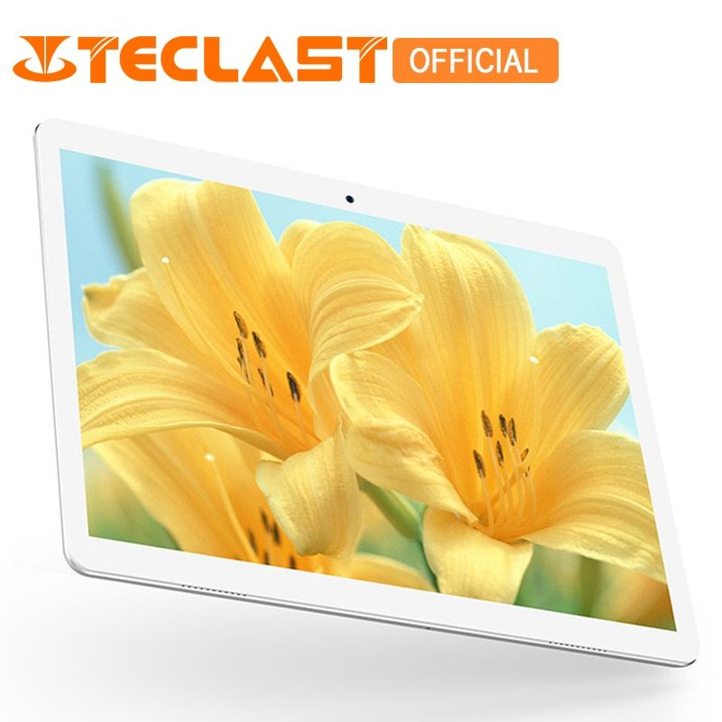 Teclast A10H MTK8163 Quad Core 1.3GHz 2GB RAM 16GB ROM Android 7.0 10.1 inch 2.0MP + 0.3MP Tablet PC Double Cameras Dual WiFi