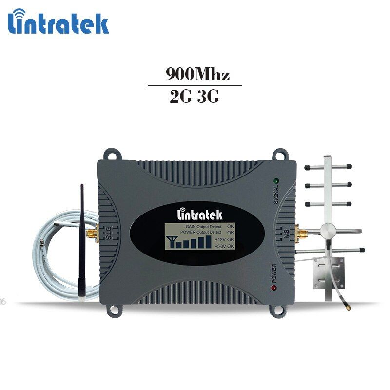 Lintratek GSM celular signal repeater GSM 900Mhz mobile signal booster gsm cellphone amplifier 2g repetidor Tele2 MTS #6