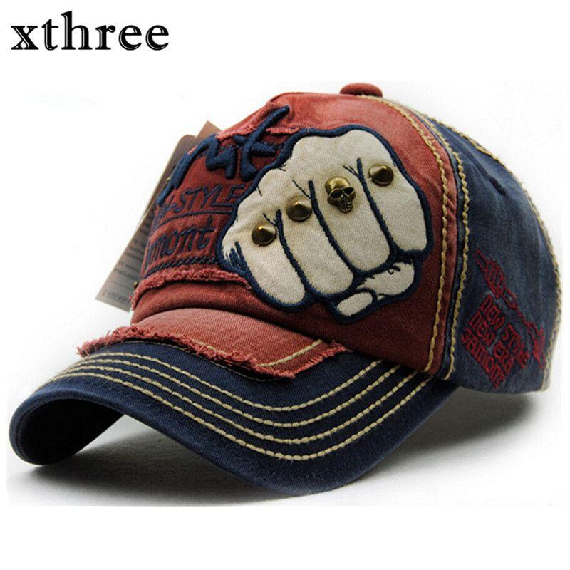 XTHREE unisex mode männer Baseballmütze frauen hysteresenhut Baumwolle Beiläufige kappen Sommer herbst Hut für männer kappe großhandel
