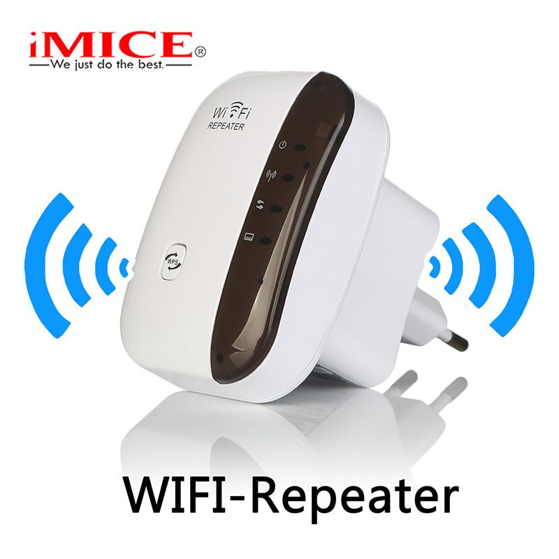 Wireless WiFi Repeater Signal Amplifier 802.11N/B/G Wi-fi Range Extender 300Mbps Signal <font><b>Boosters</b></font> Repetidor Wifi Wps Encryption