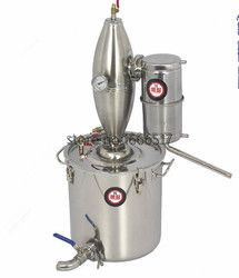 30L D'alcool Inoxydable Distillateur Home Brew Kit Moonshine Still Vinification Chaudière Brand new RH