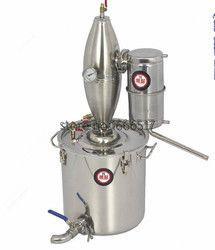 30L D'alcool Inoxydable Distillateur Home Brew Kit Moonshine Still Vinification Chaudière Brand new RH
