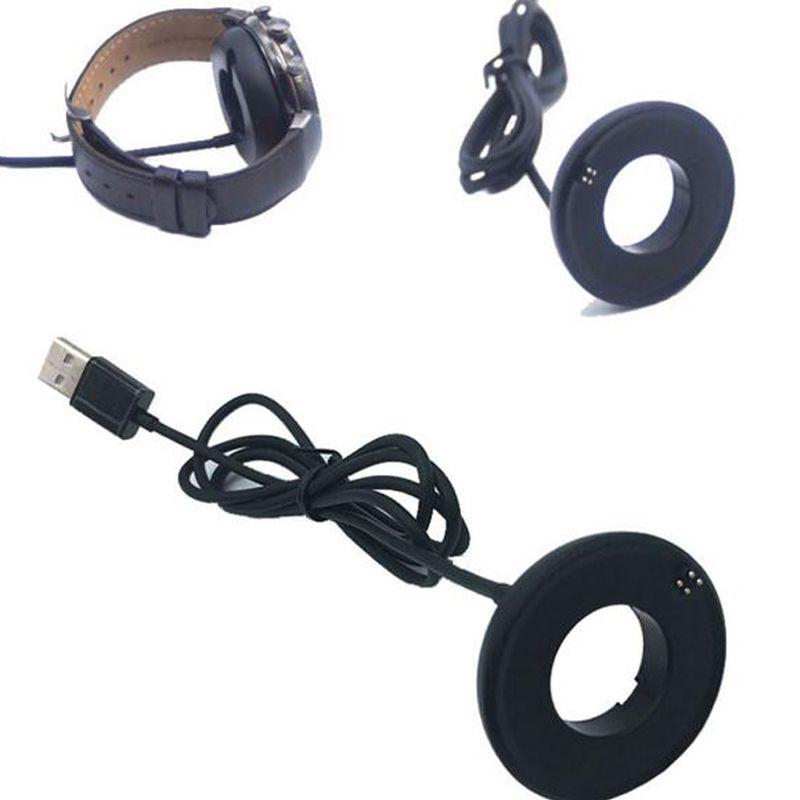 Pour ASUS Zenwatch 3 3ème Génération Smartwatch Charging Cradle Dock Smart Montre Chargeur Adaptateur Avec Câble USB de Haute Qualité Noir