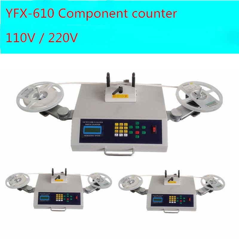 110V / 220V Automatic SMD Parts Counter Components Counting Machine 1PCS