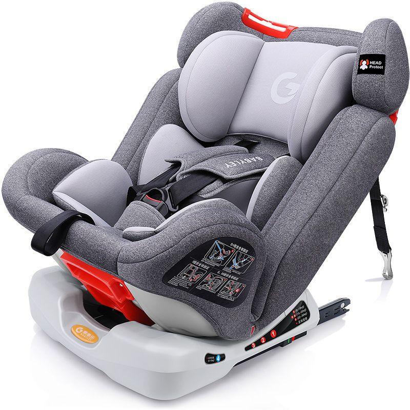 Einstellbar kind auto sitz 0-12 große winkel komfort ISOFIX interface auto safet sitze können sitzen können liegen für 9-36 KG baby neue produkt