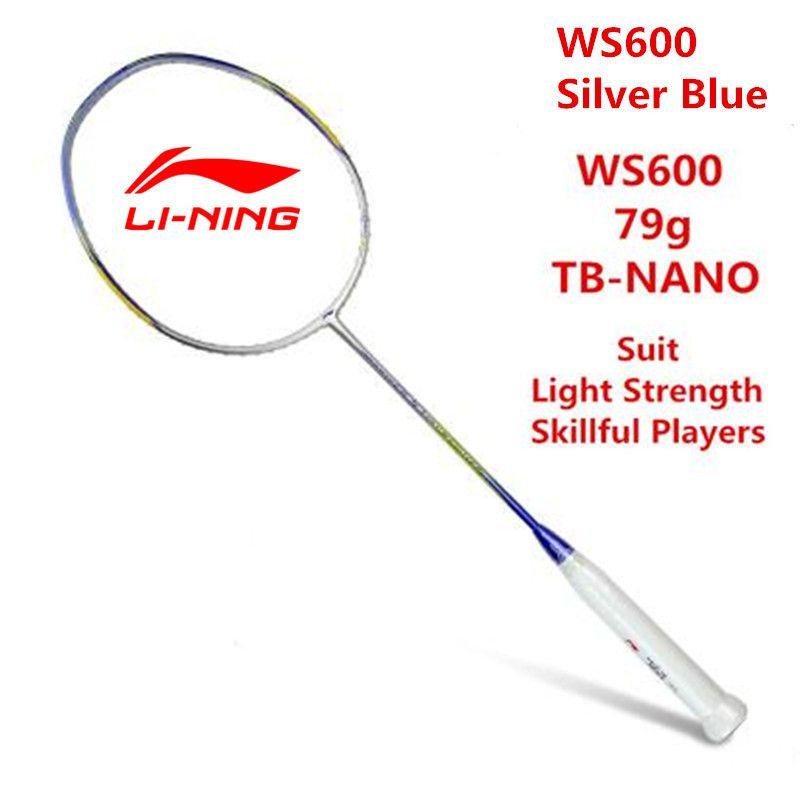 Li Ning Badminton Schläger Super Licht Sturm 600 Ultraleicht 5U (79g) Vollcarbon Futter AYPJ194 Professionelle Offensive tennisschläger