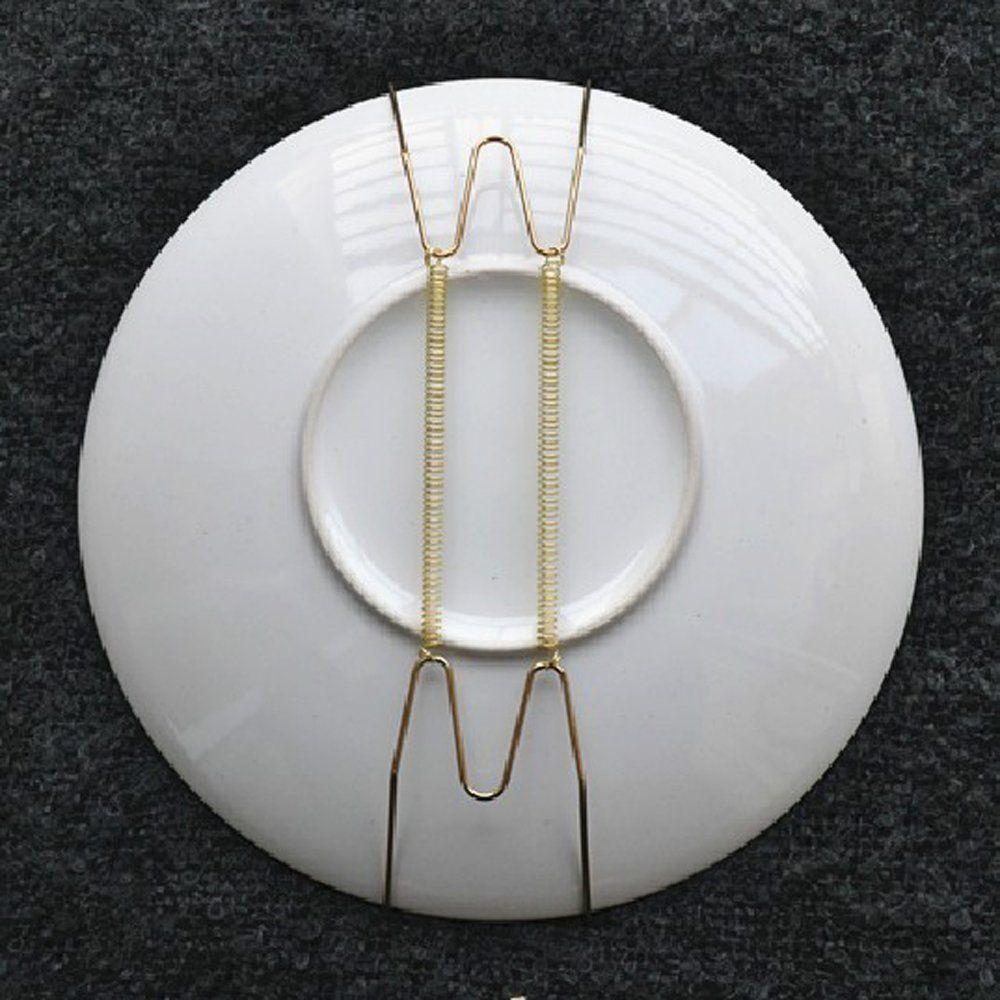 10 pièces. 8 pouces plaque support plaque cintre plaque palettes mur cintre pour plaque