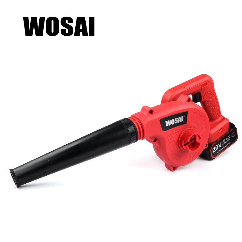 WOSAI 20V <font><b>Lithium</b></font> Battery Cordless Blower Electric Air Blower Industrial grade