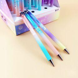 Милый Kawaii Moon Star пластиковый механический карандаш креативное небо автоматические ручки для детей письма школьные принадлежности корейски...