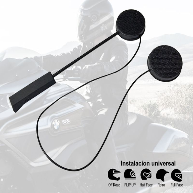 Motorrad Hut helm, bluetooth kopfhörer headset 4,0 + EDR, lautsprecher headset automatisch antworten Bluetooth kopfhörer