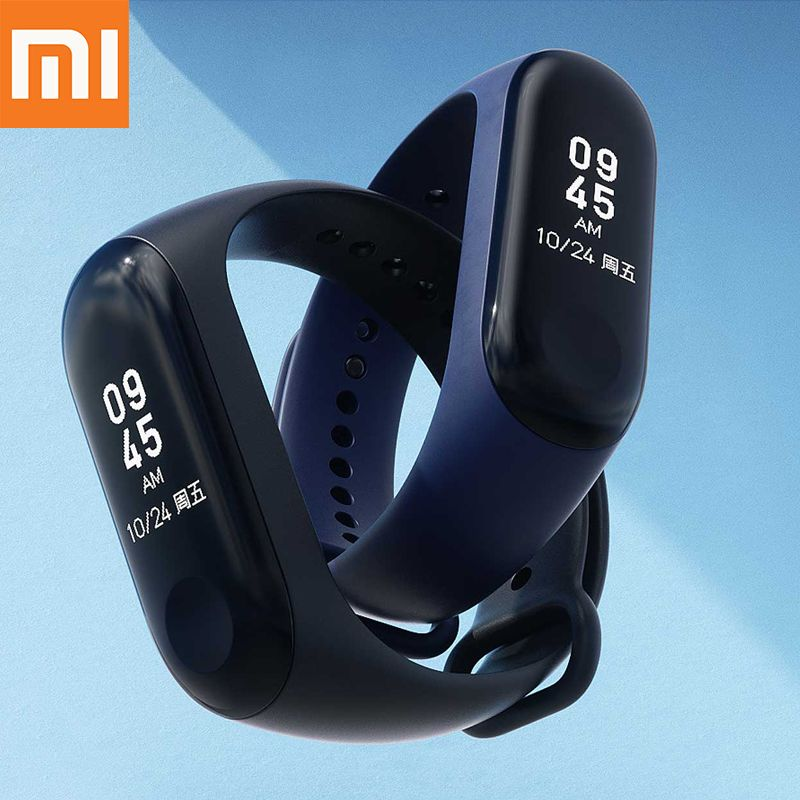 Instock 2018 New Original Xiaomi Mi Band 3 Smart Band Mi band 3 Smart Bracelet Watch OLED Display Mi band 2 Upgrade Version
